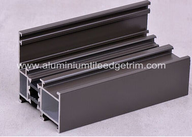 Sound Insulation Extruded Aluminum Window Frame Section Profile Thermal Break