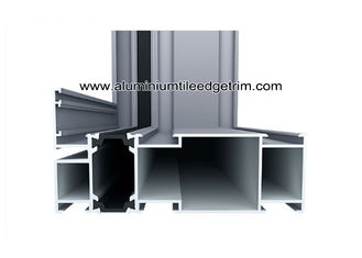 Weather Resistance Dual Color Aluminium Sections For Doors And Windows